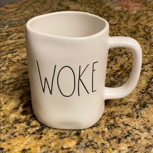 Rae Dunn WOKE Mug